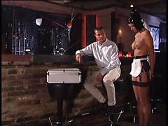Mistress Takes Her Latex-clad Slavegirl Away From Her Fuckmate