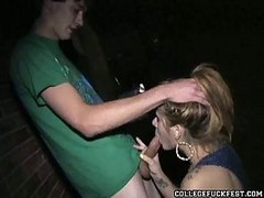College Blowjob Bash