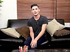 cute nervous and adorable twink elijah west jerking it off