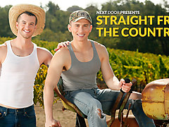 Dante Martin & Quentin Gainz in Straight From The Country XXX Video - NextdoorBuddies