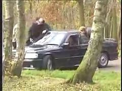 French dogging sluts inthe public park