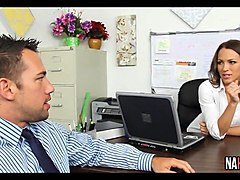 Sweet Office Fuck Lily Love