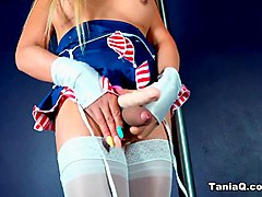 Tania Q in Stripper TS Tanya Q - TaniaQ