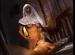 Hot Nun Trying anal