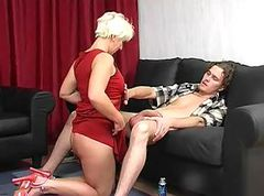 Russian mature womenfucks her son