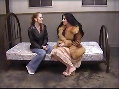 Rough Anal Treatement For Pretty Lesbian