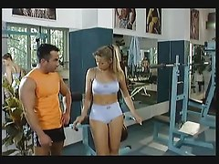 Hot Gym Workout