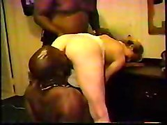 Blonde White Wife With Black Guys Homemade Interracial Cuckold