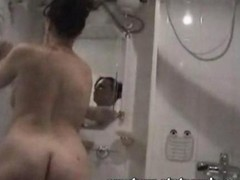 Shower Makes German Girl Horny