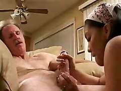 Teen Asian Blowjob With Old Man.