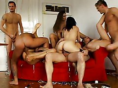 Spectacular Group Sex