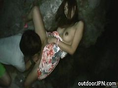 Akina Lovely Asian Doll Enjoys Outdoor Part4